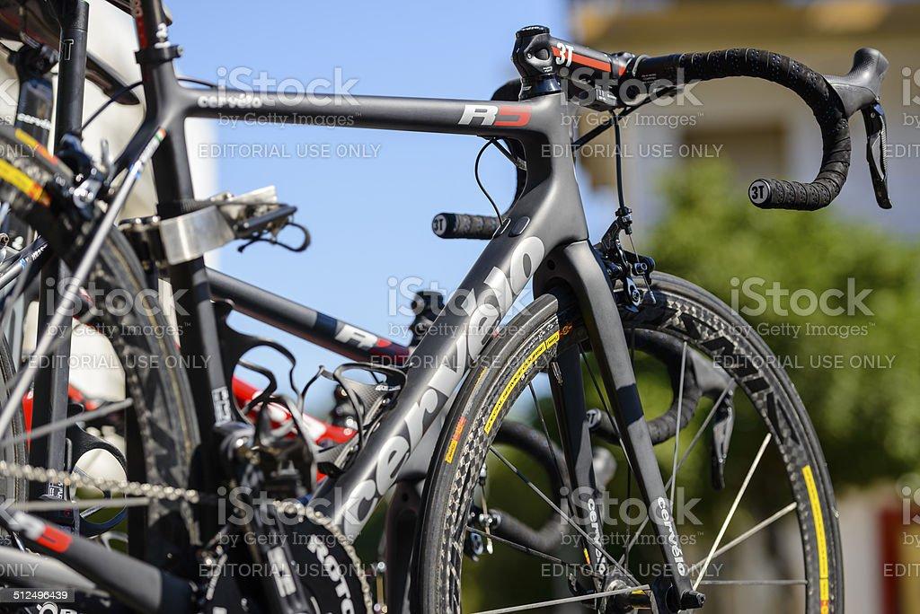 La Vuelta Espana 2014 stock photo