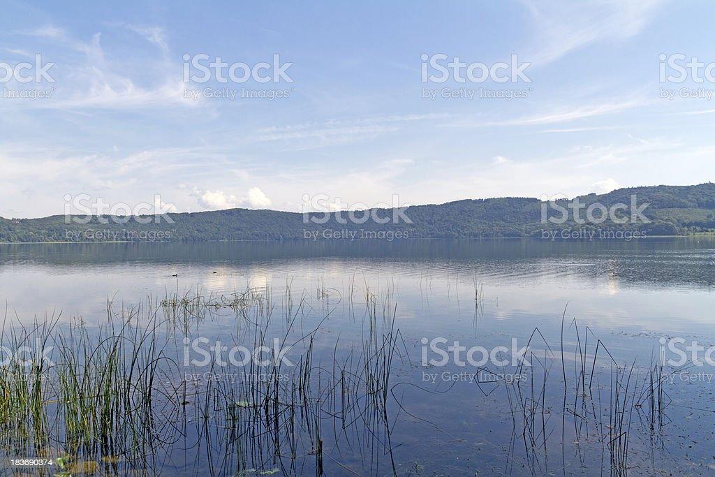 Laacher See, Rhineland-Palatinate, Germany, Europe royalty-free stock photo