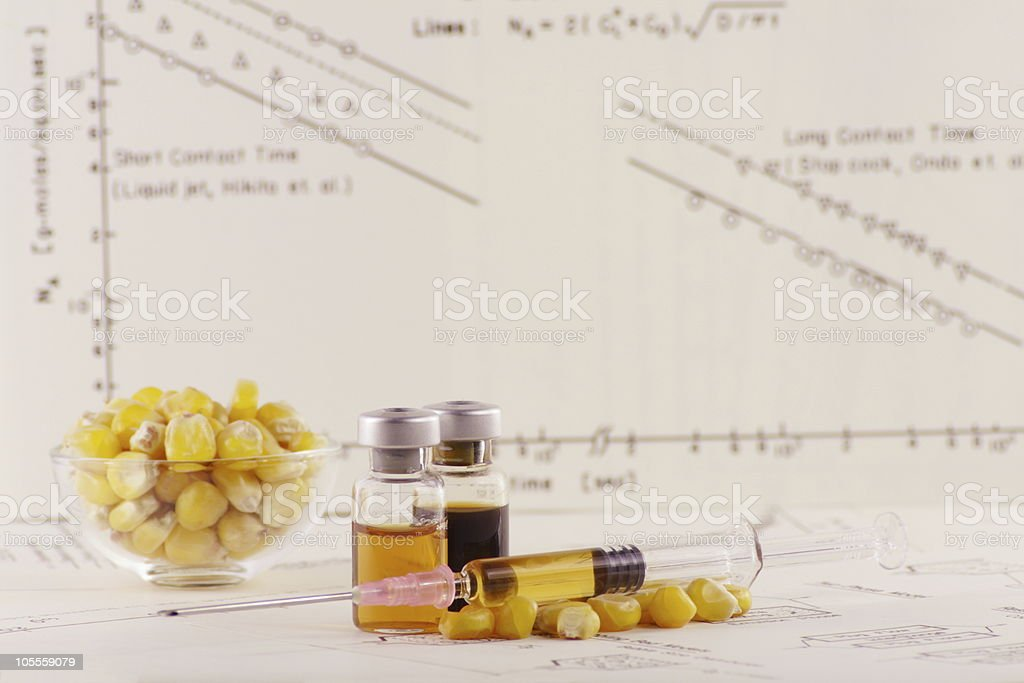 lab experiments on food royalty-free stock photo