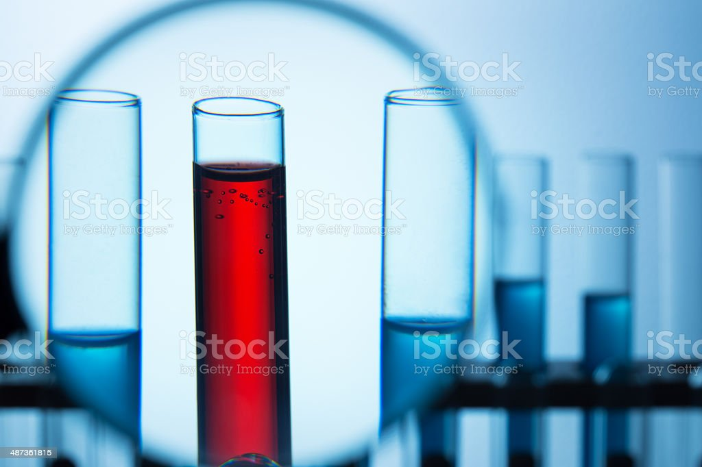Lab research concept stock photo