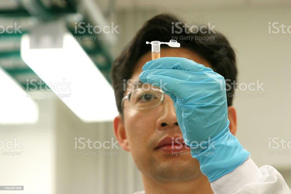 Lab Researcher stock photo
