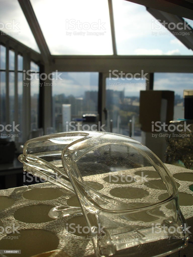 lab spectacles royalty-free stock photo