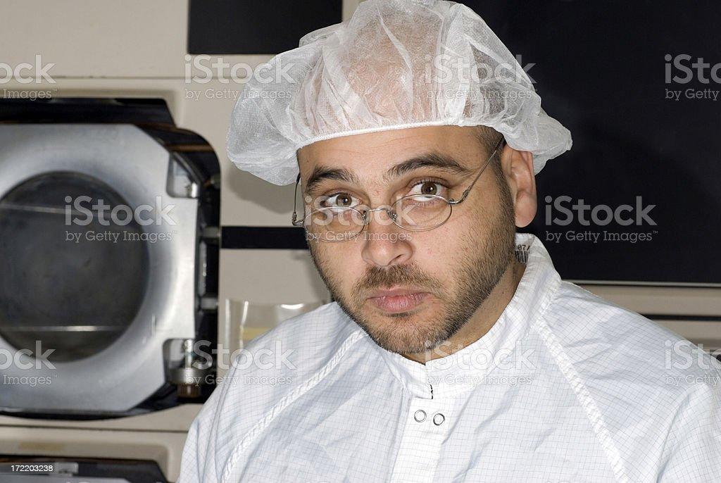 Lab Technician royalty-free stock photo