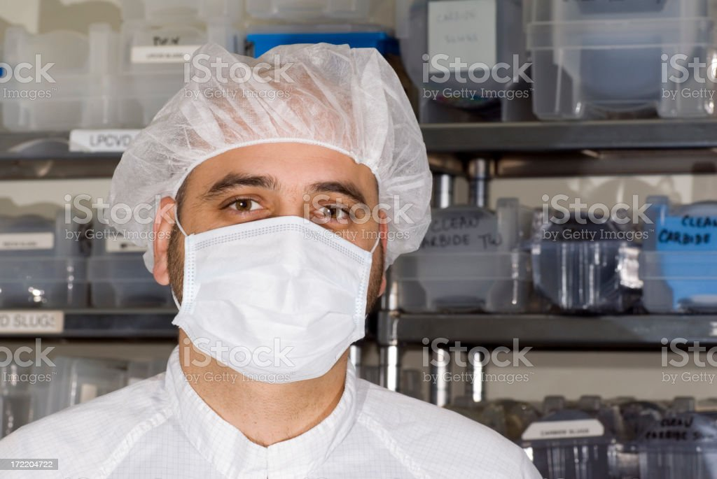 Lab Technician royalty-free stock photo