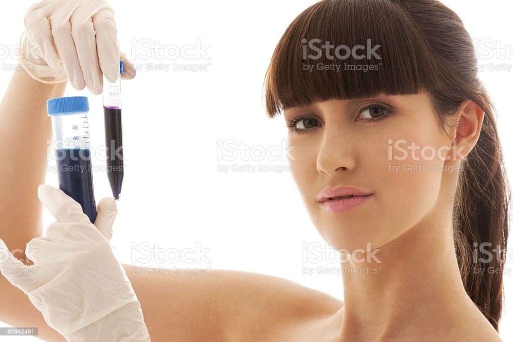 lab work royalty-free stock photo