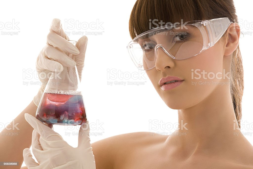 lab work stock photo