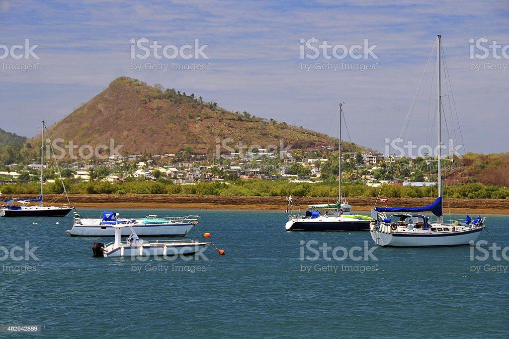 Labattoir, Petite-Terre, Mayotte island stock photo