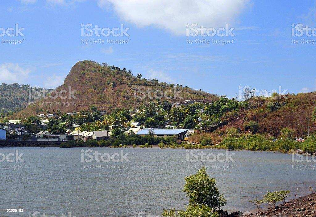 Labattoire, Petite-Terre, Mayotte island stock photo