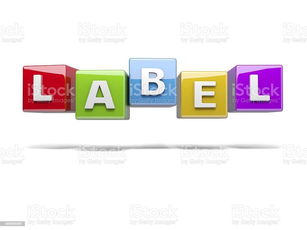 label royalty-free stock photo