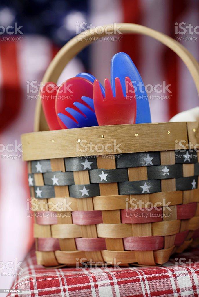 Labor Day Picnic royalty-free stock photo
