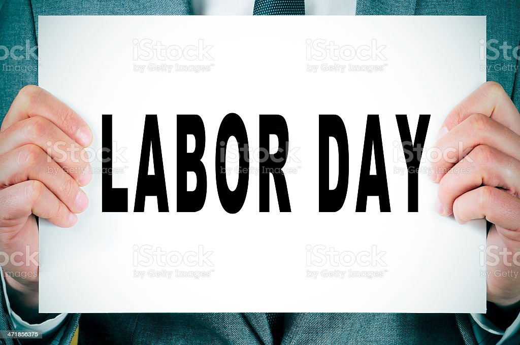 labor day royalty-free stock photo