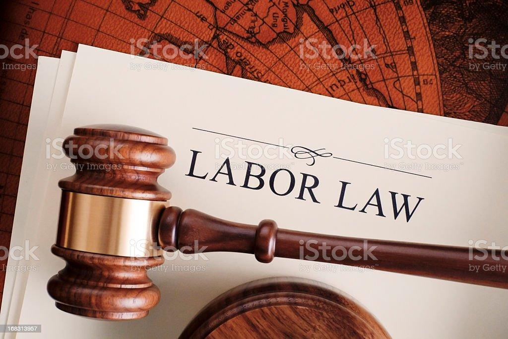 Labor law royalty-free stock photo