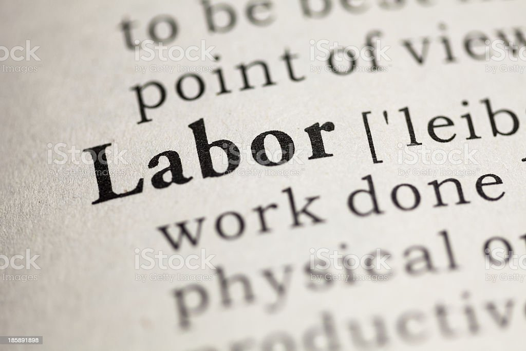 Labor royalty-free stock photo