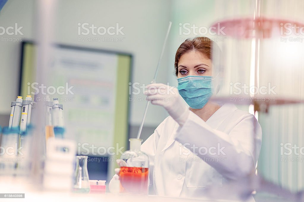Laboratory and science stock photo