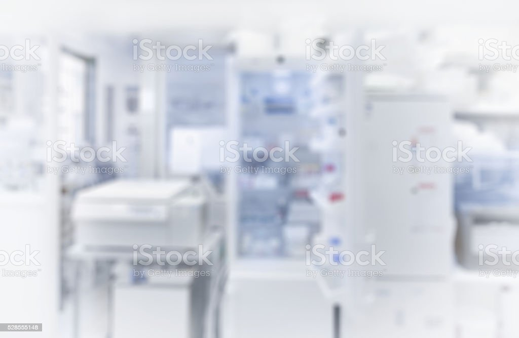 Laboratory background out of focus, scientific background. stock photo