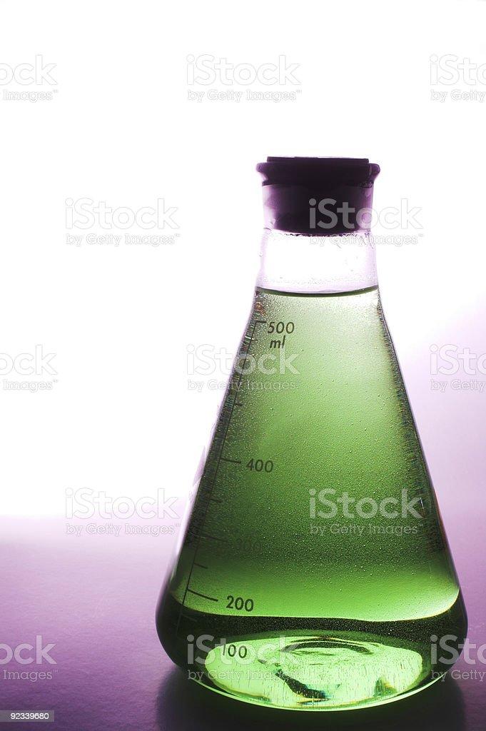 Laboratory Beaker stock photo
