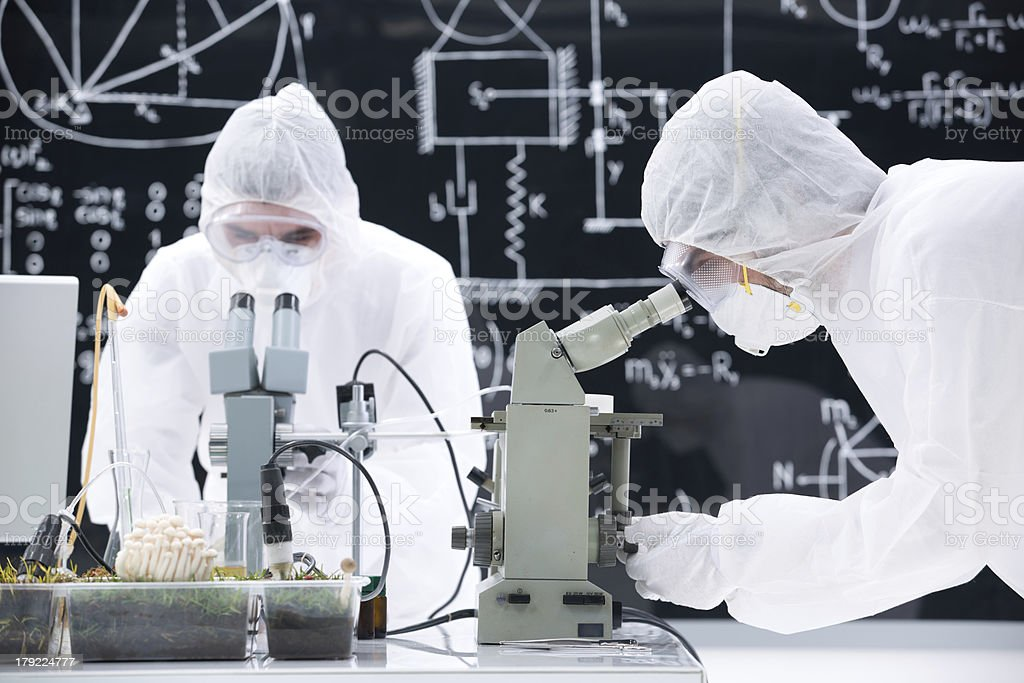laboratory chemical analysis royalty-free stock photo