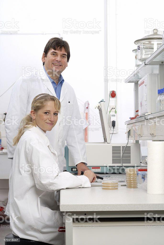 Laboratory education royalty-free stock photo