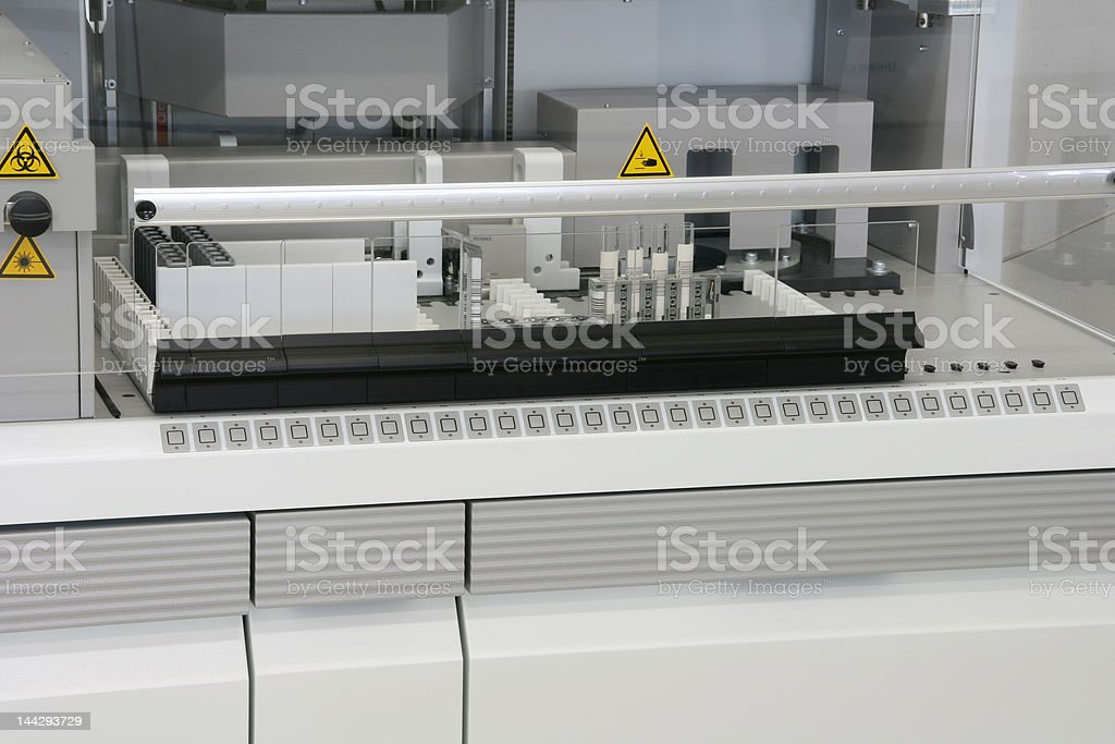 laboratory equipment 2 royalty-free stock photo
