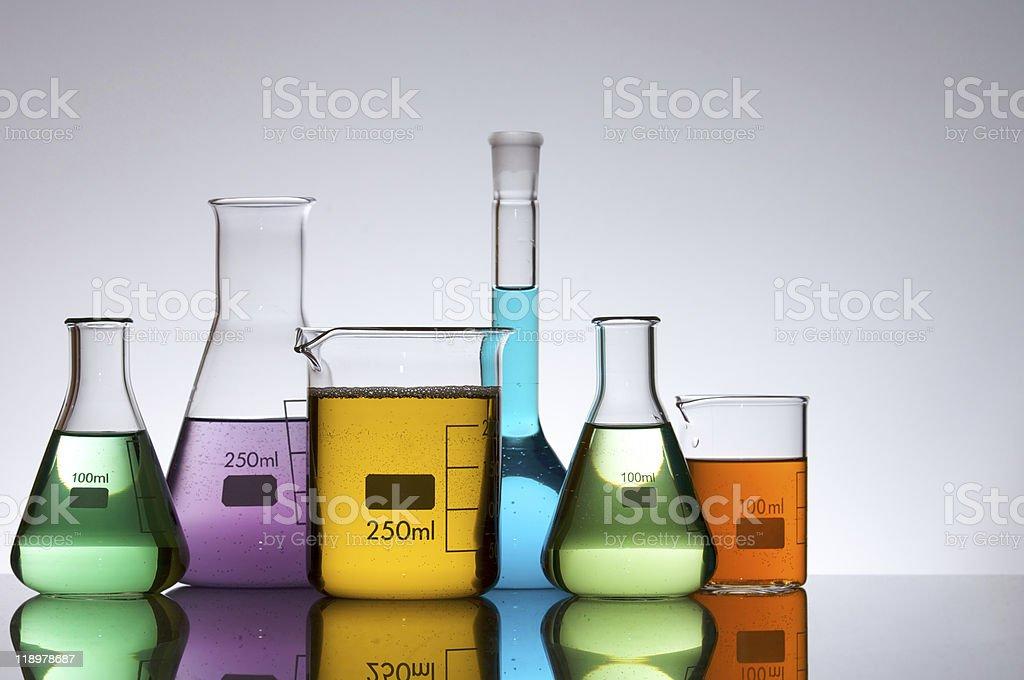 laboratory equipment stock photo