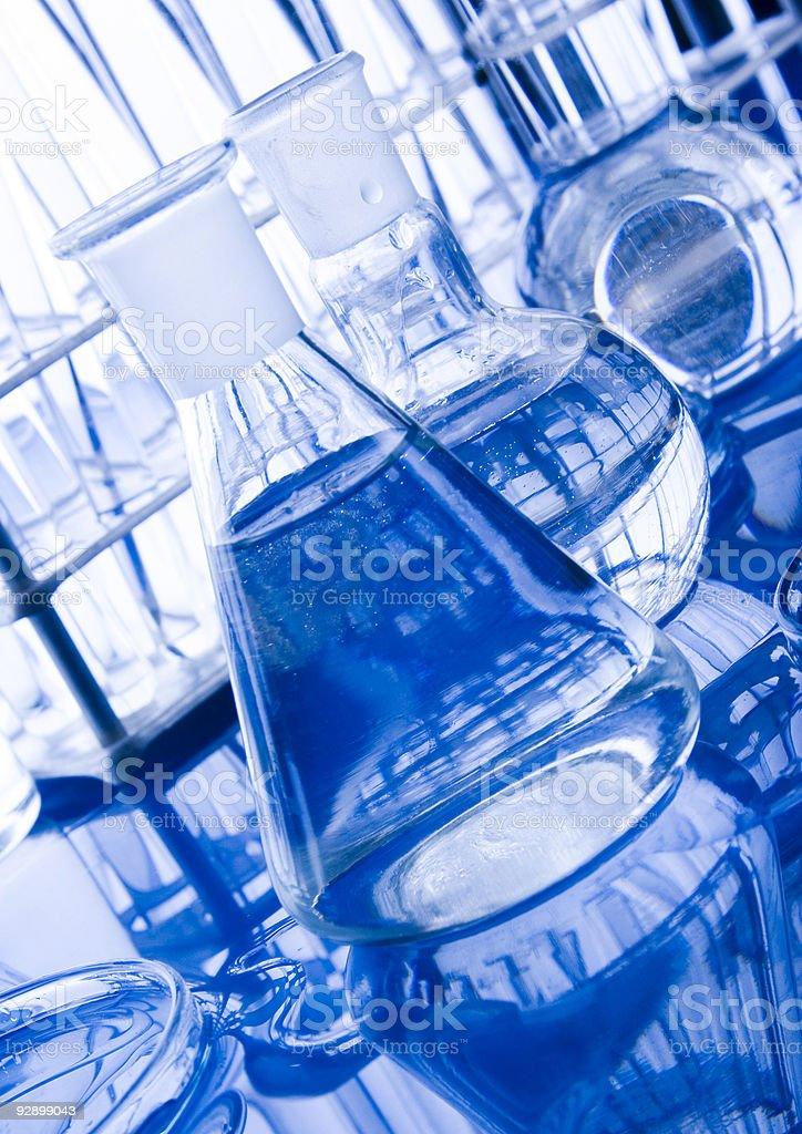 Laboratory equipment royalty-free stock photo
