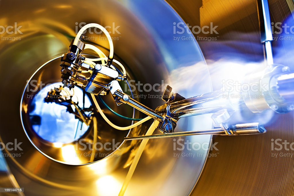 laboratory equipment working for sterilization royalty-free stock photo