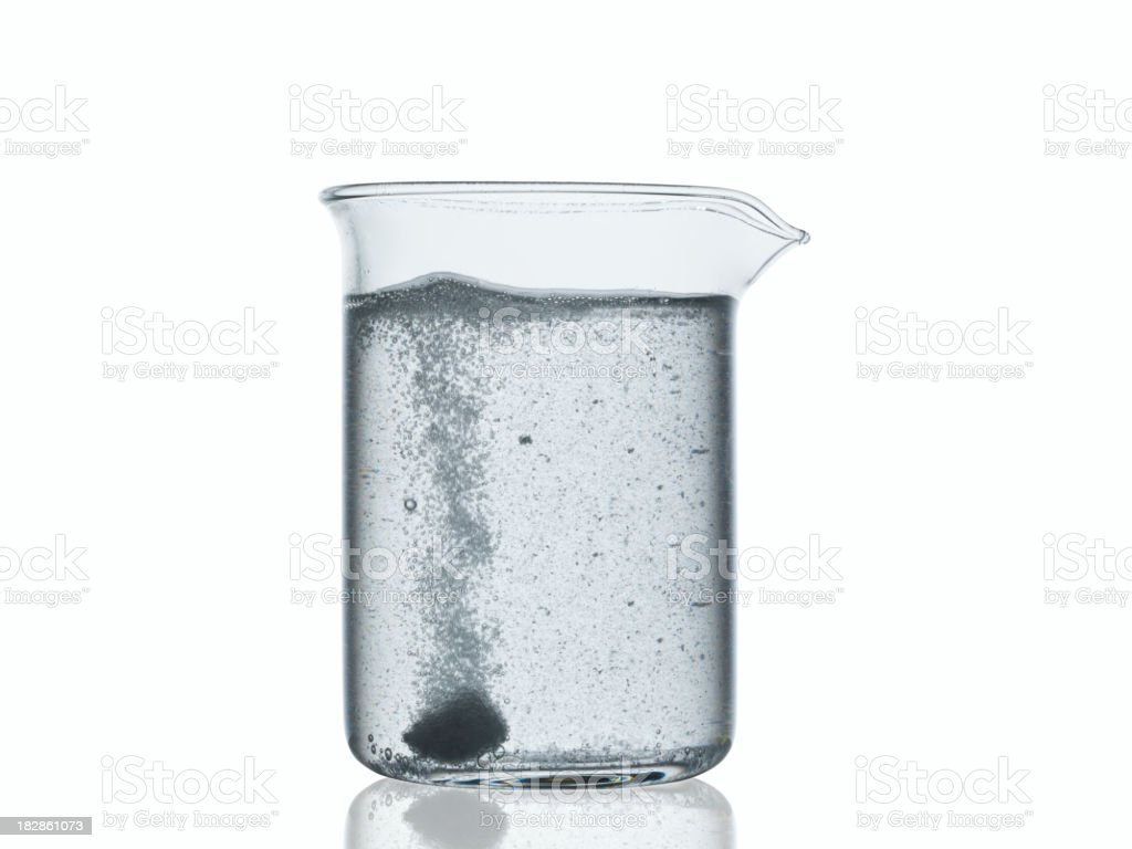laboratory flask royalty-free stock photo