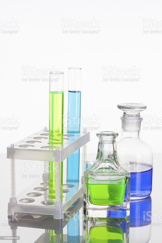 Laboratory glass royalty-free stock photo