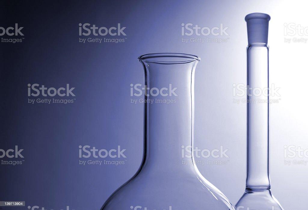 Laboratory glasses royalty-free stock photo