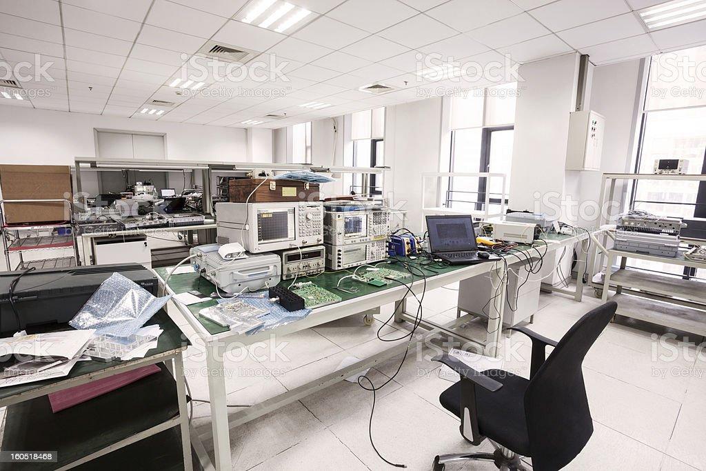 laboratory interior royalty-free stock photo