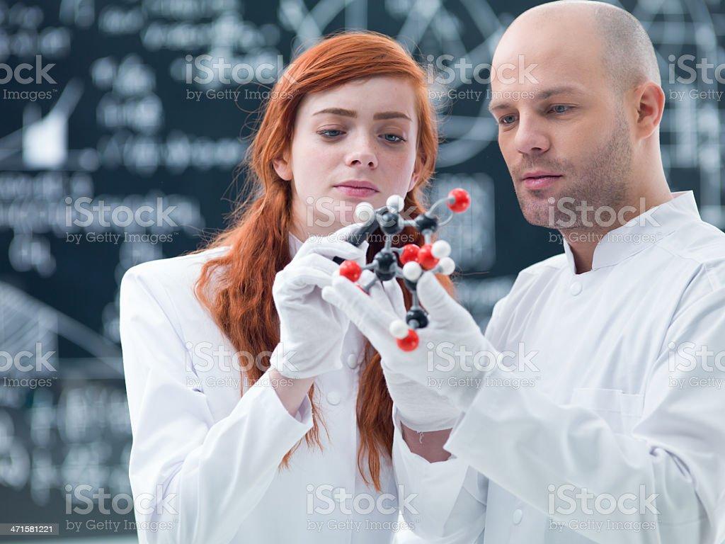 laboratory molecular analysis royalty-free stock photo