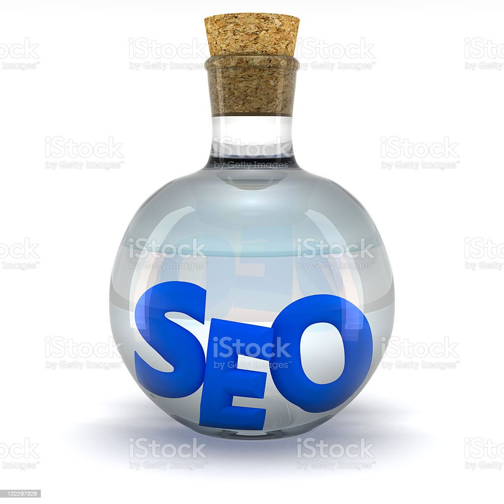 SEO laboratory royalty-free stock photo
