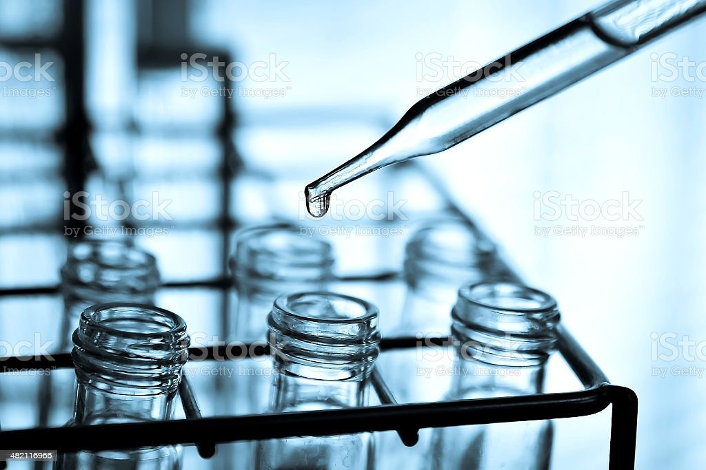 Laboratory research stock photo