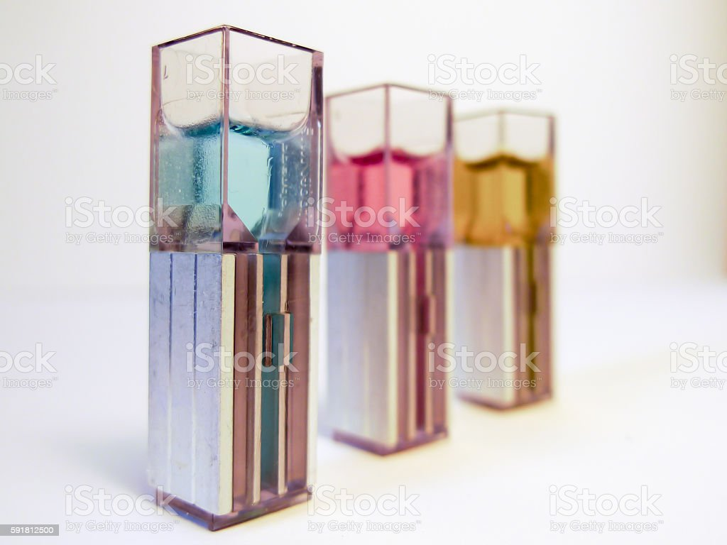 Laboratory samples for chemistry and biotechnology, Isolated. stock photo