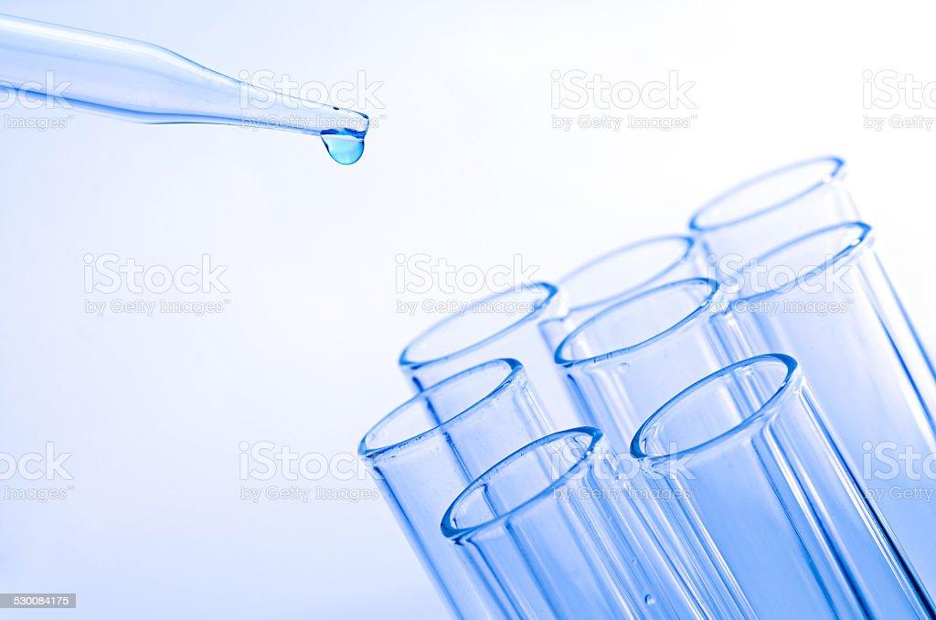 laboratory test tubes stock photo