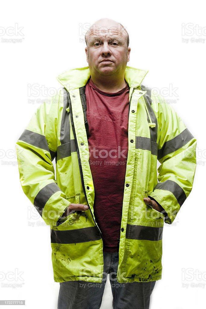 Labourer stock photo