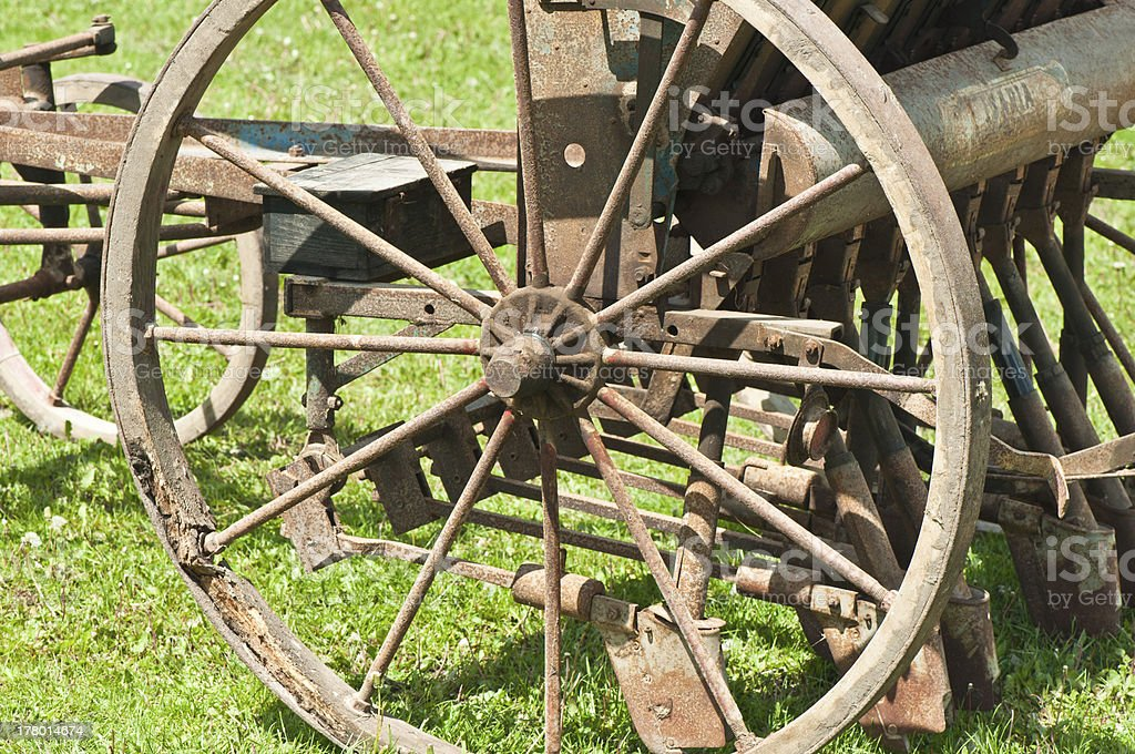 labourg chariot parts royalty-free stock photo