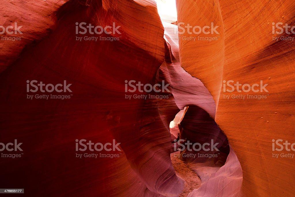 Labirinto fiery sabbia foto stock royalty-free