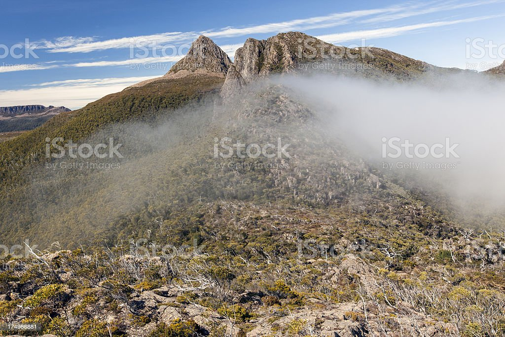 Labyrinth, overland track stock photo