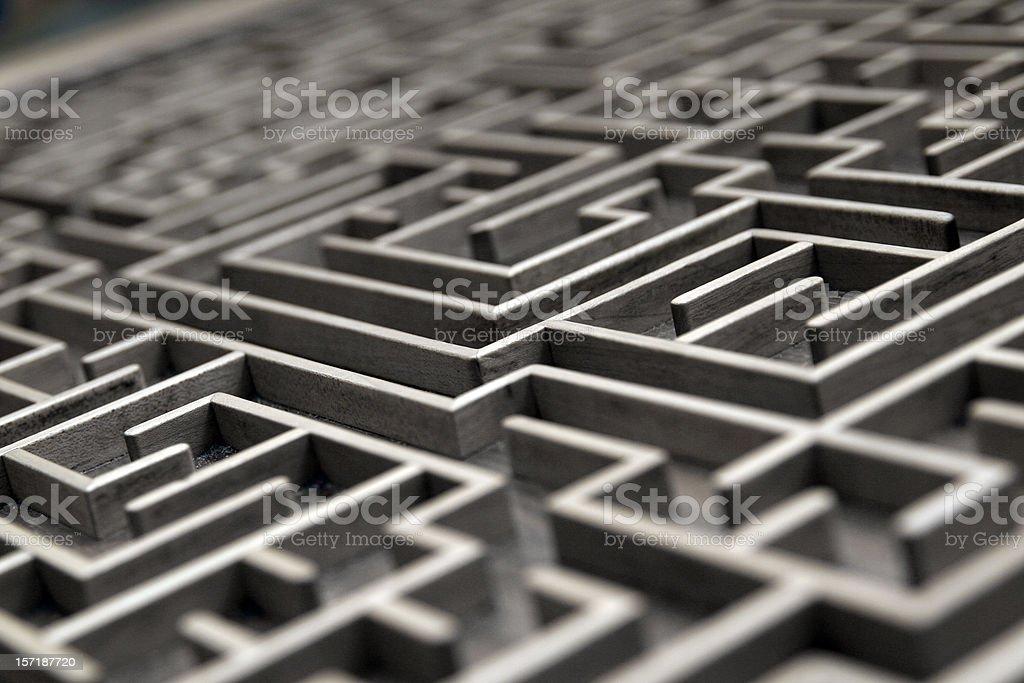Labyrinth stock photo