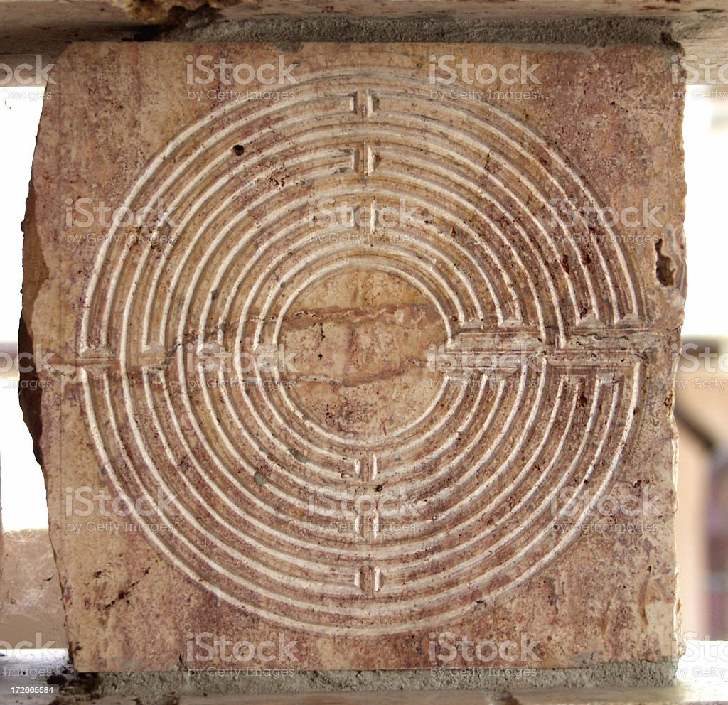 Labyrinth. stock photo