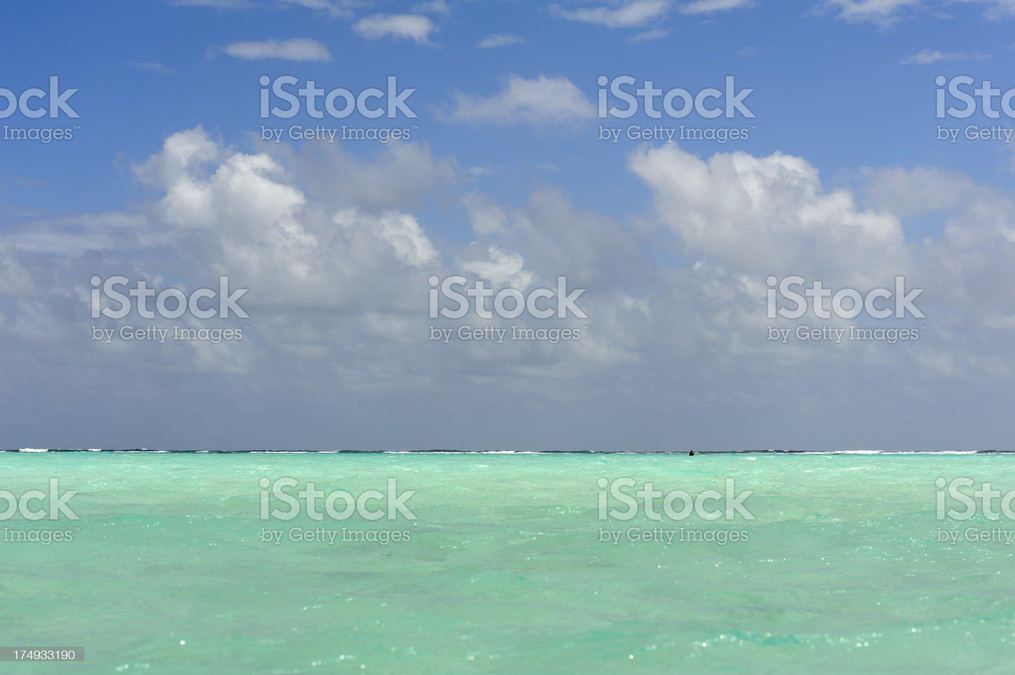 lac bay, sorobon, bonaire, surfers paradise royalty-free stock photo