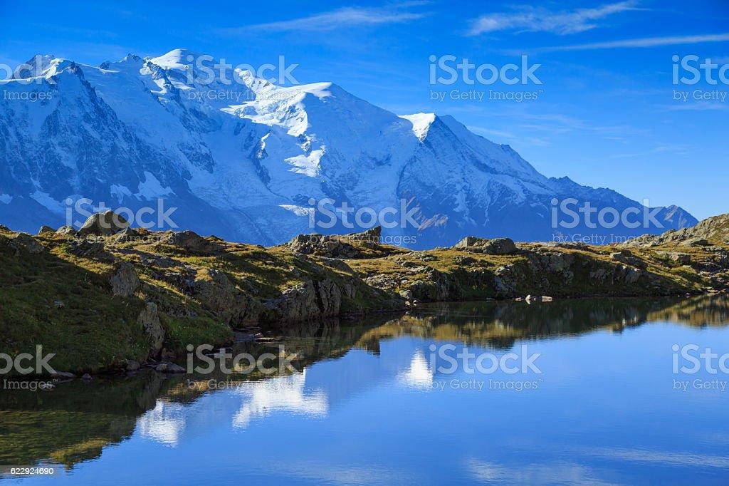 Lac De Chéserys stock photo