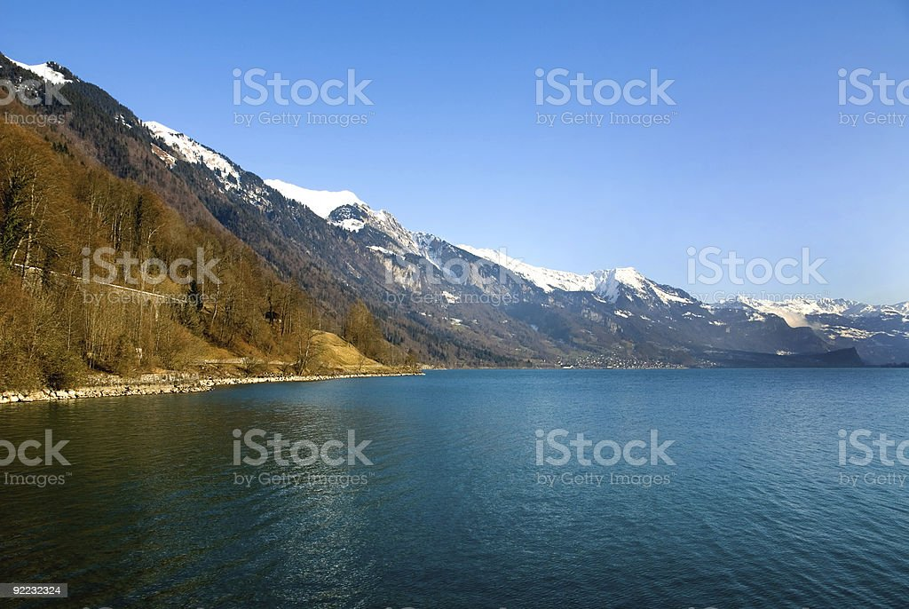 Lac Leman stock photo