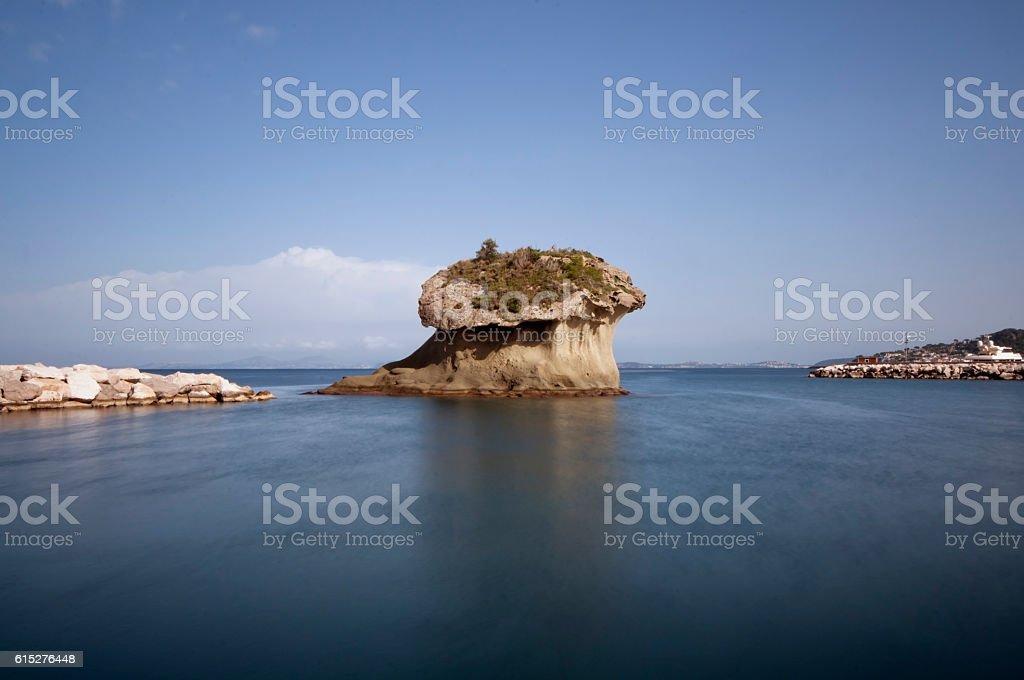 Lacco Ameno island of Ischia stock photo