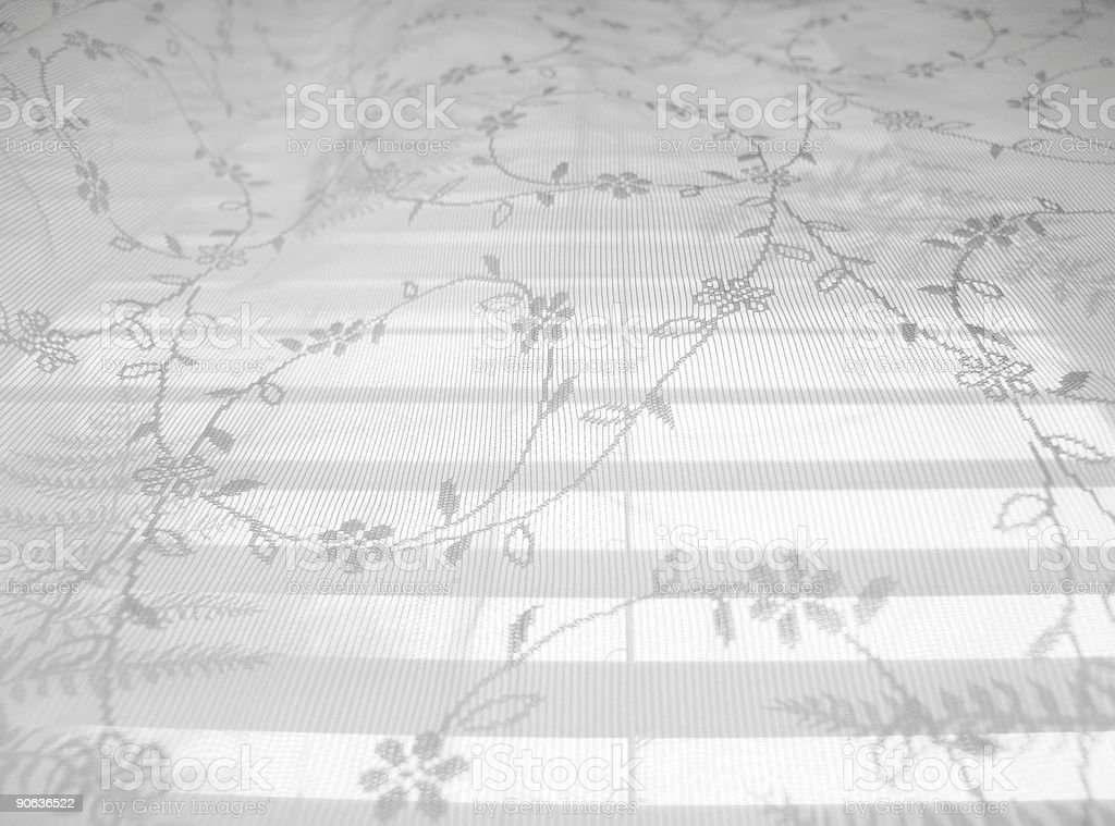 Lace Abstract Pattern 5 royalty-free stock photo