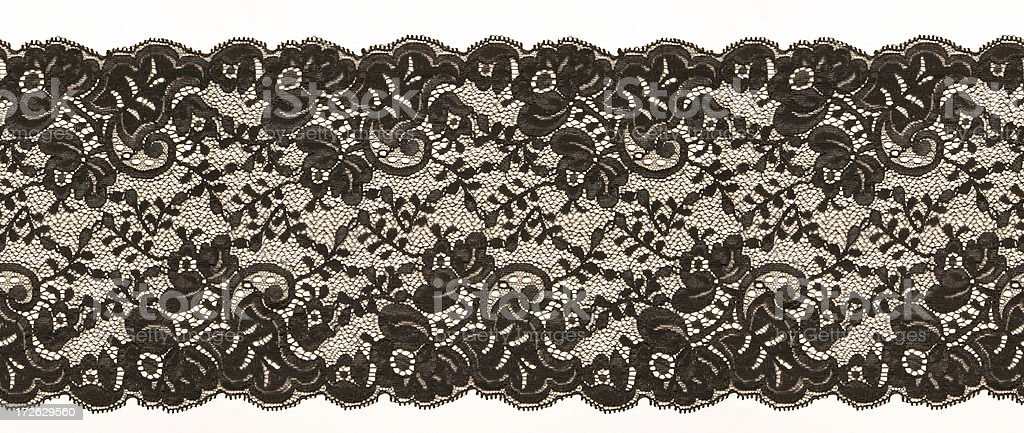 Lace Border royalty-free stock photo