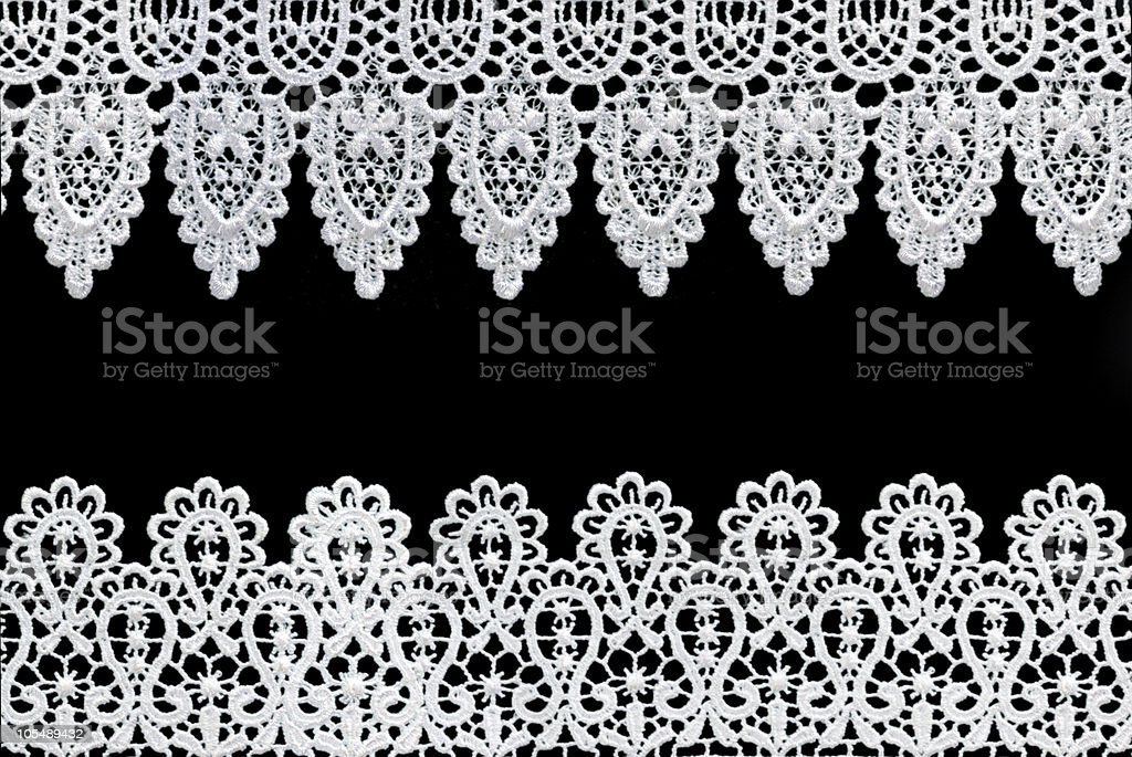Lace Borders royalty-free stock photo