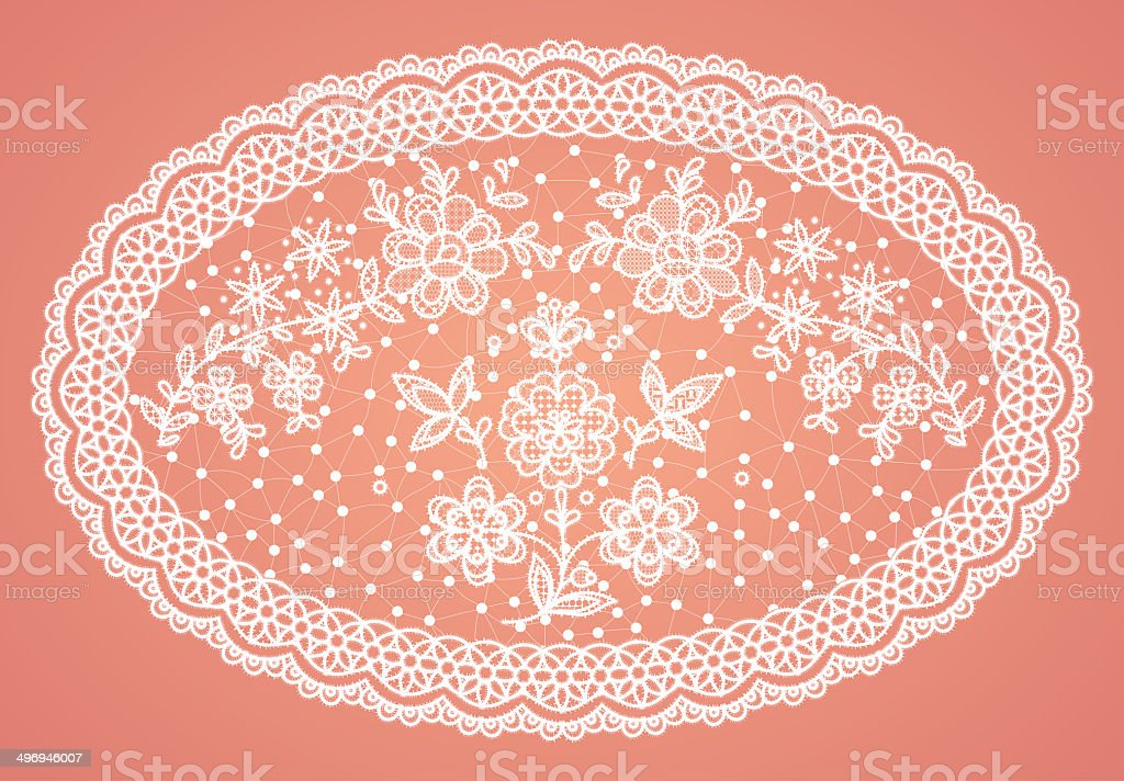 lace doily image royalty-free stock photo