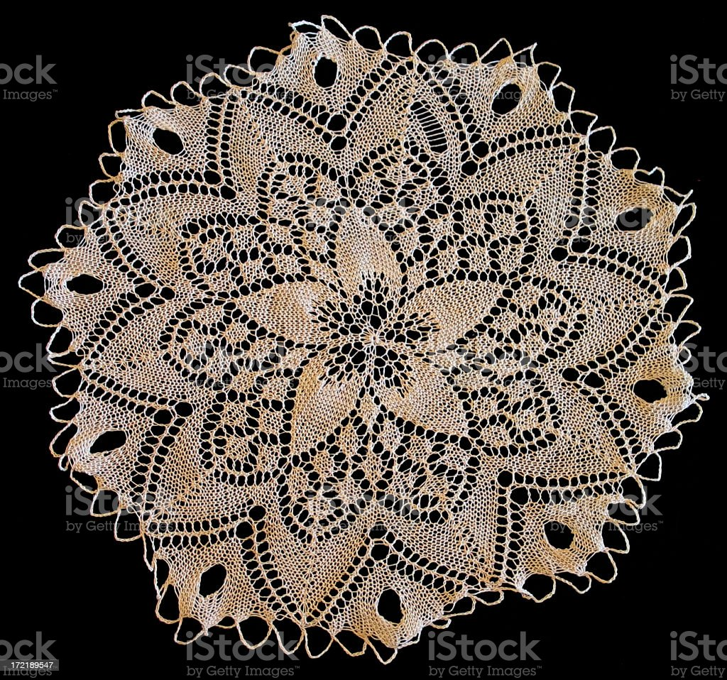 Lace Doily royalty-free stock photo